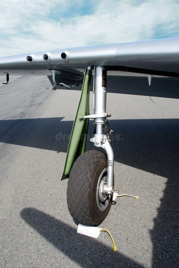 Het Wiel van het vliegtuig stock afbeeldingen
