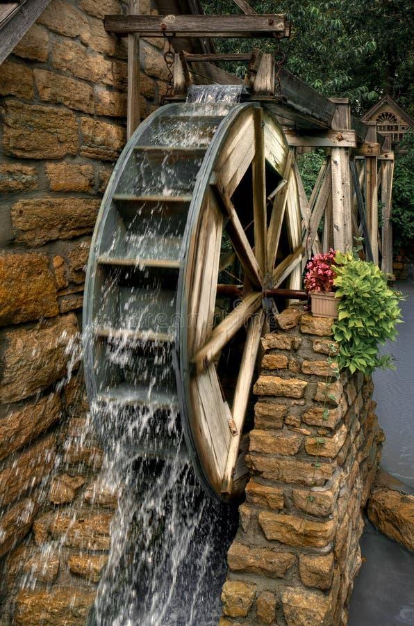 Het Wiel van het water stock foto