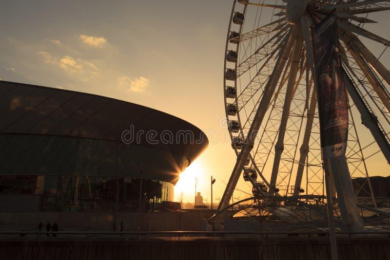 Het Wiel van Liverpool royalty-vrije stock fotografie