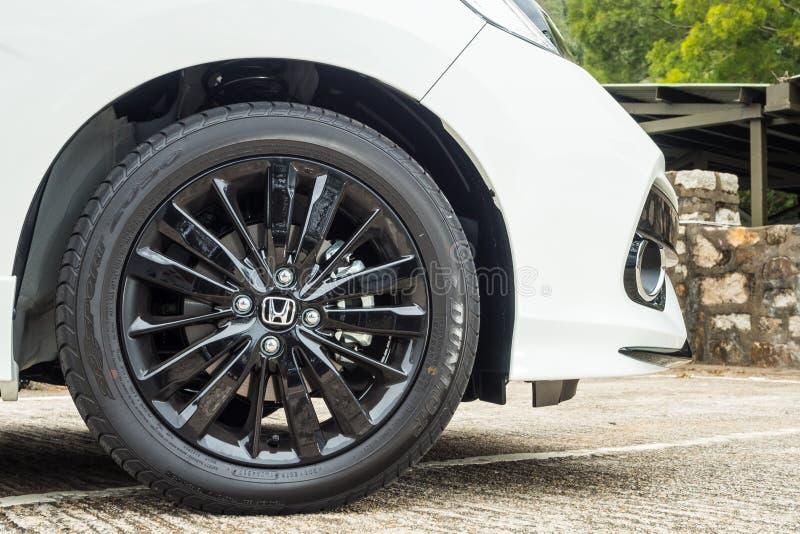 Het Wiel van MT 2018 van Honda Jazz RS royalty-vrije stock afbeelding