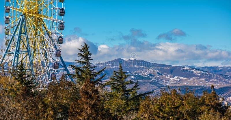 Het Wiel van Tbilisi Farris royalty-vrije stock foto's