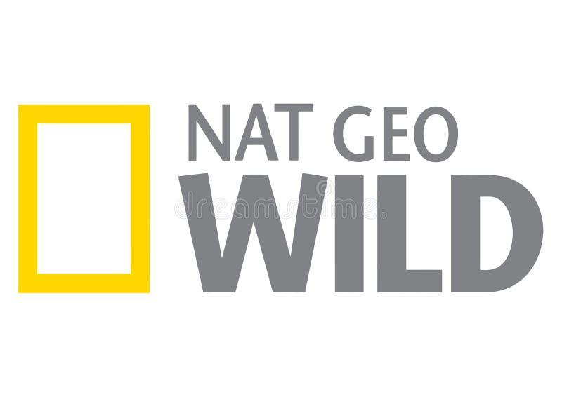 Het Wilde Embleem van National Geographic vector illustratie