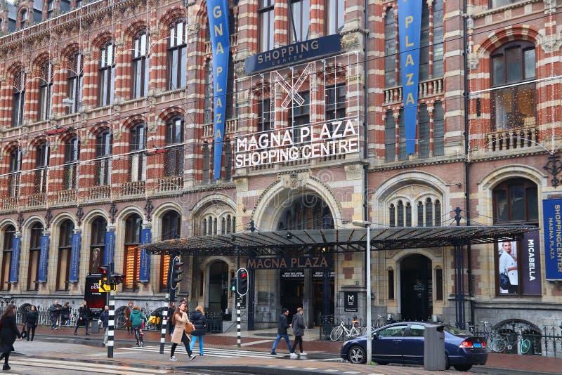 Het winkelcentrum van Amsterdam royalty-vrije stock afbeelding