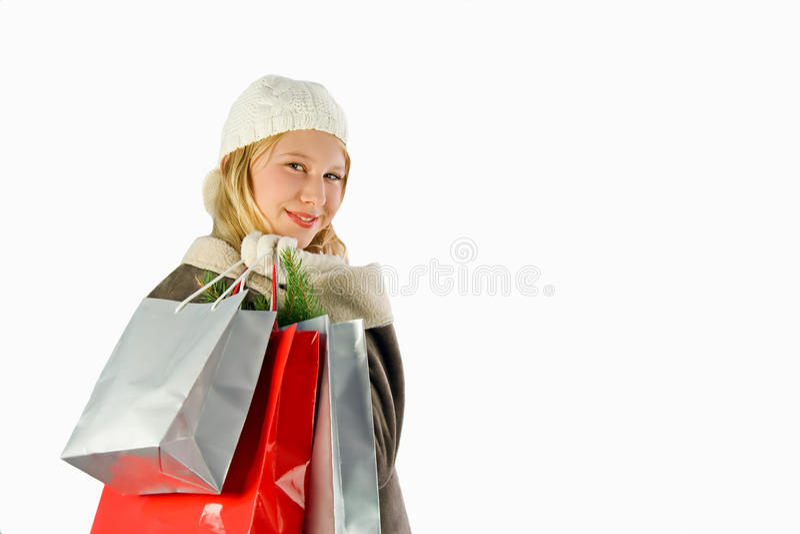 Download Het winkelen stock afbeelding. Afbeelding bestaande uit kerstmis - 10784393