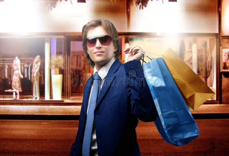 Het winkelen royalty-vrije stock afbeelding