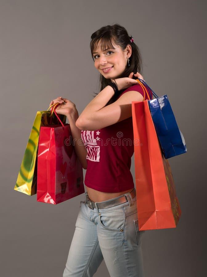 Het winkelen stock foto
