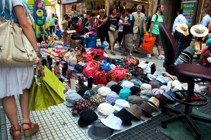 Het winkelen in Buenos aires royalty-vrije stock fotografie