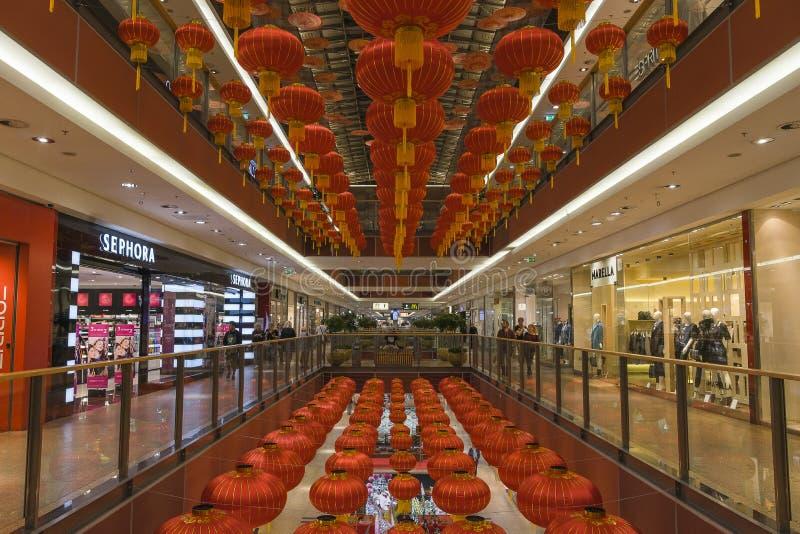 Het winkelen Galerij royalty-vrije stock foto