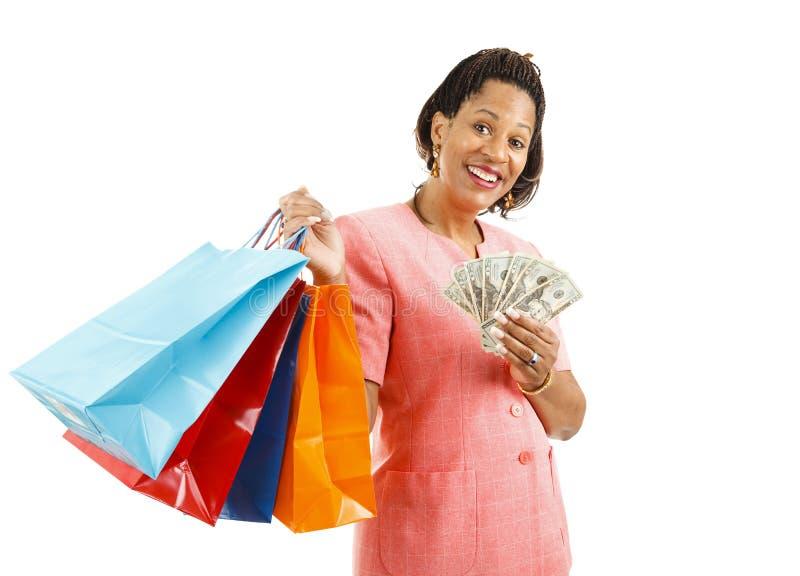 Het winkelen - Grote Verteerder stock foto's