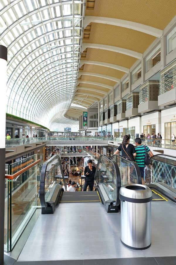 Het winkelen post in Singapore MBS royalty-vrije stock fotografie