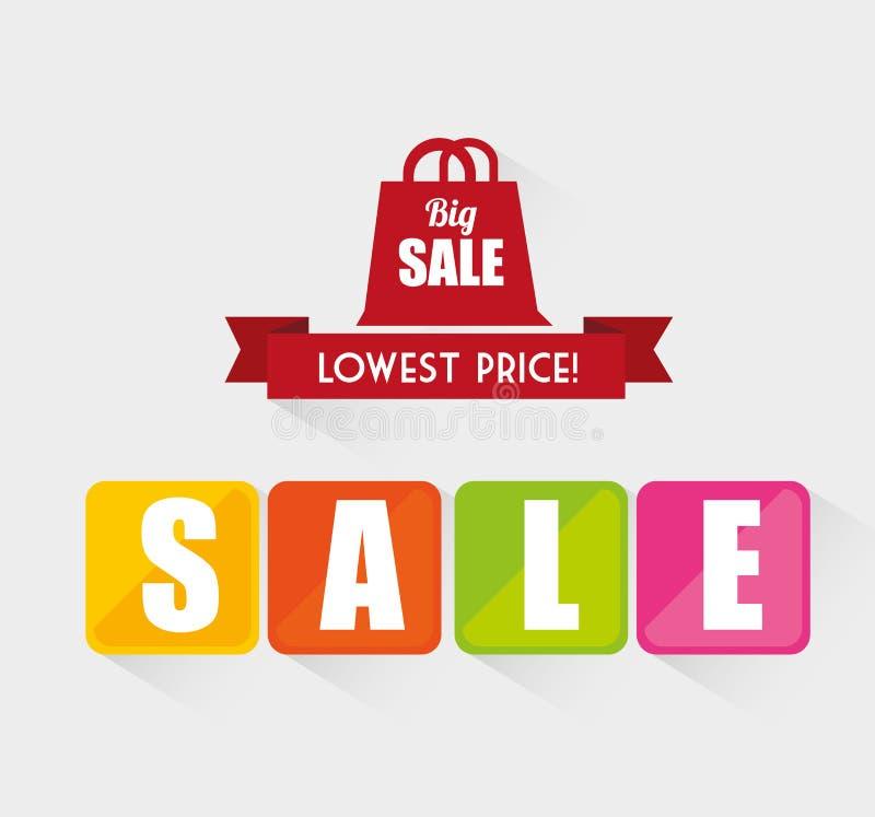 Het winkelen speciale aanbiedingen vector illustratie
