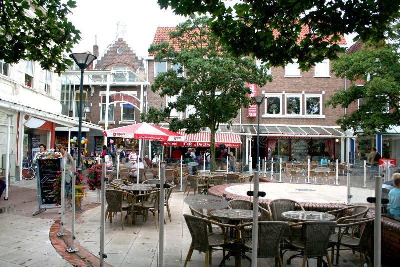 Het winkelen straat van Vlissingen royalty-vrije stock foto
