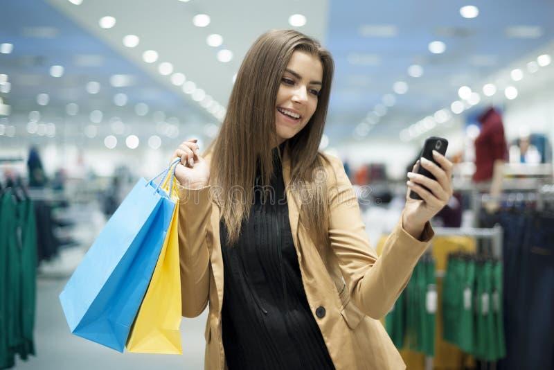 Het winkelen tijd royalty-vrije stock foto's