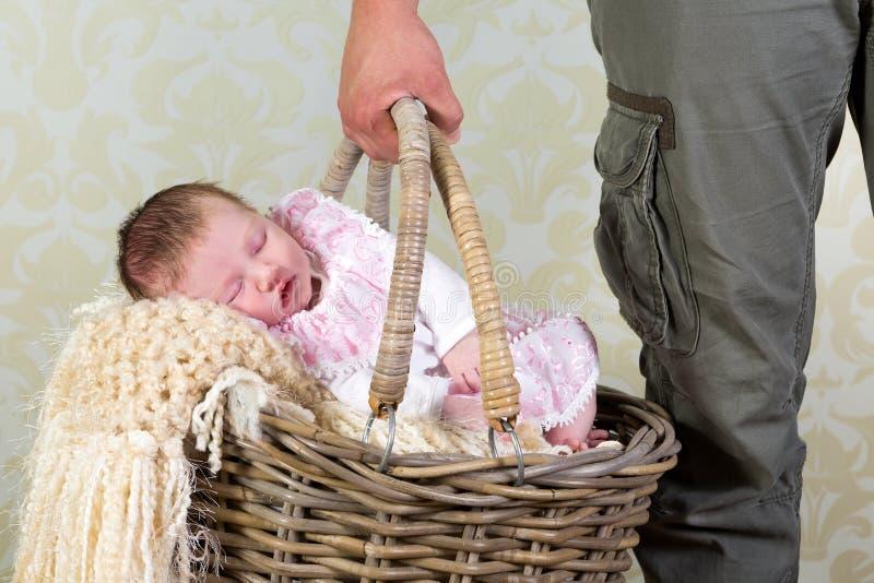 Het winkelen van de baby royalty-vrije stock fotografie