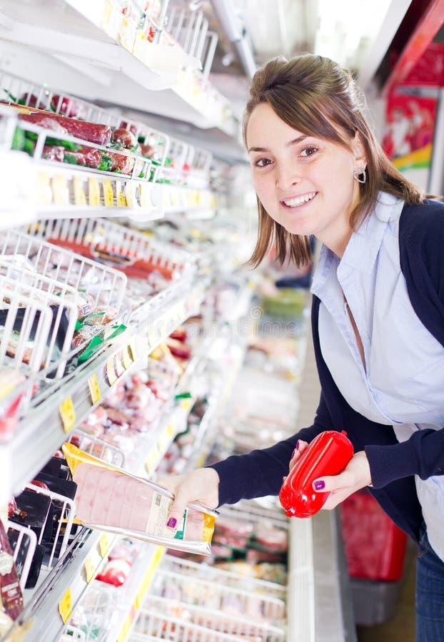 Het winkelen van de kruidenierswinkel   royalty-vrije stock foto