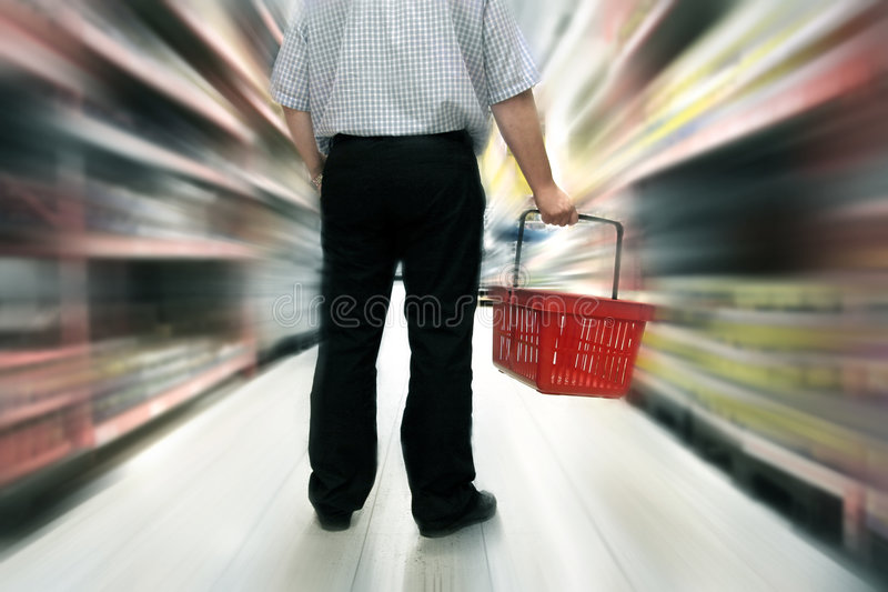 Het winkelen van het voedsel