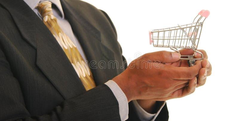 Het winkelen voor uw zaken royalty-vrije stock afbeelding