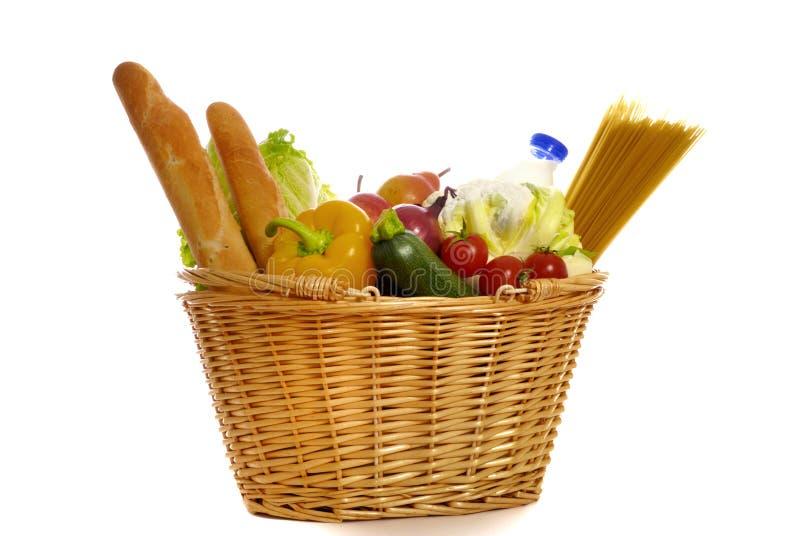 Het winkelen voor voedsel royalty-vrije stock foto's