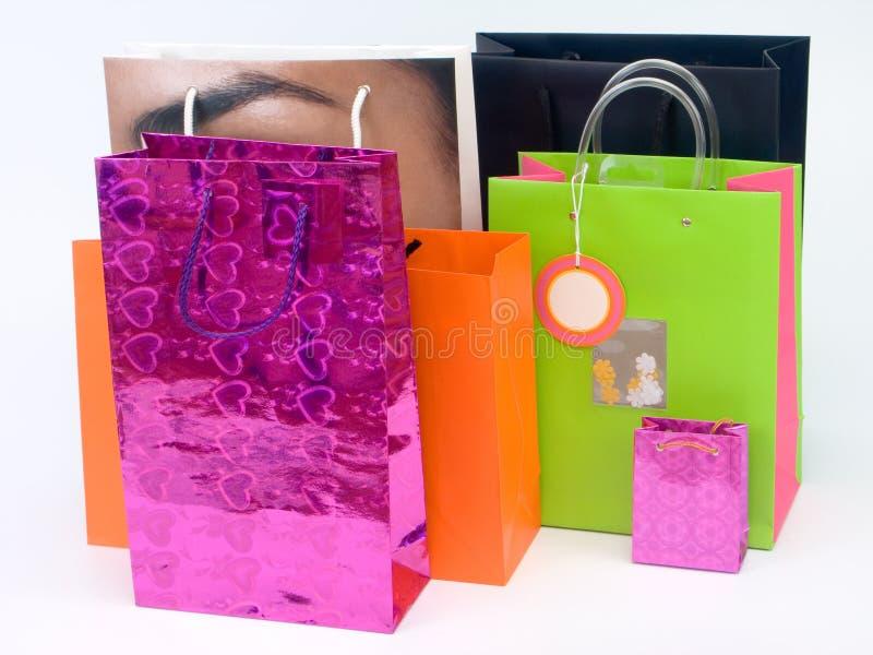 Het winkelen zakken #1 stock foto's