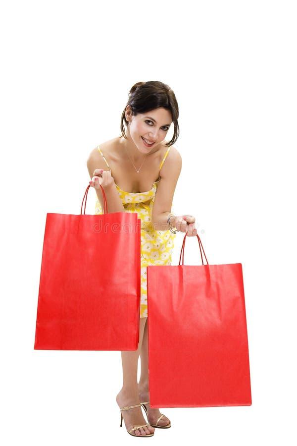 Het winkelen zakken royalty-vrije stock afbeelding