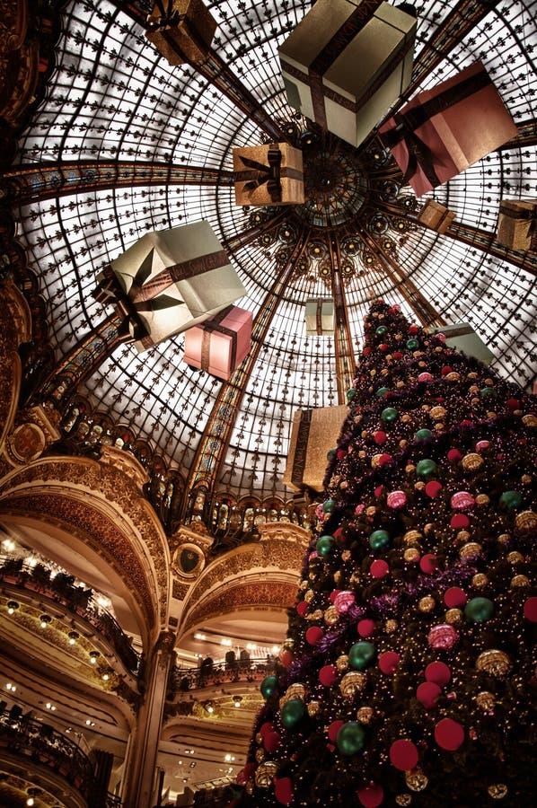 Het winkelende centrum van Parijs stock foto's