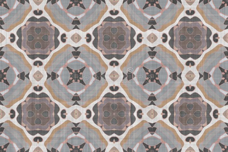 Download Het Wiskundige Patroon Van De Ornamentgrafiek Stock Illustratie - Illustratie bestaande uit kleur, math: 107703754