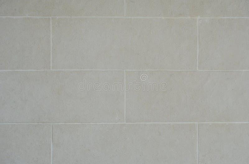 Het wit schilderde concrete van de blokmuur textuur als achtergrond stock afbeeldingen