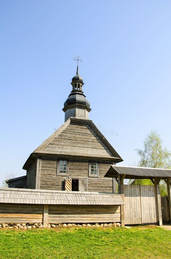 Het Witrussische Museum van de Staat van Landelijke Architectuur en het Leven stock foto's