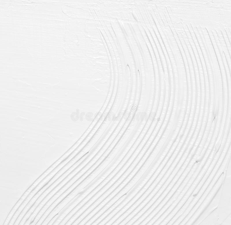 Het witte abstracte textuur schilderen royalty-vrije stock afbeeldingen