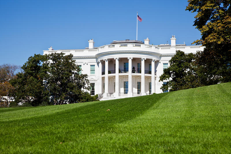 Het Witte Huis stock foto's