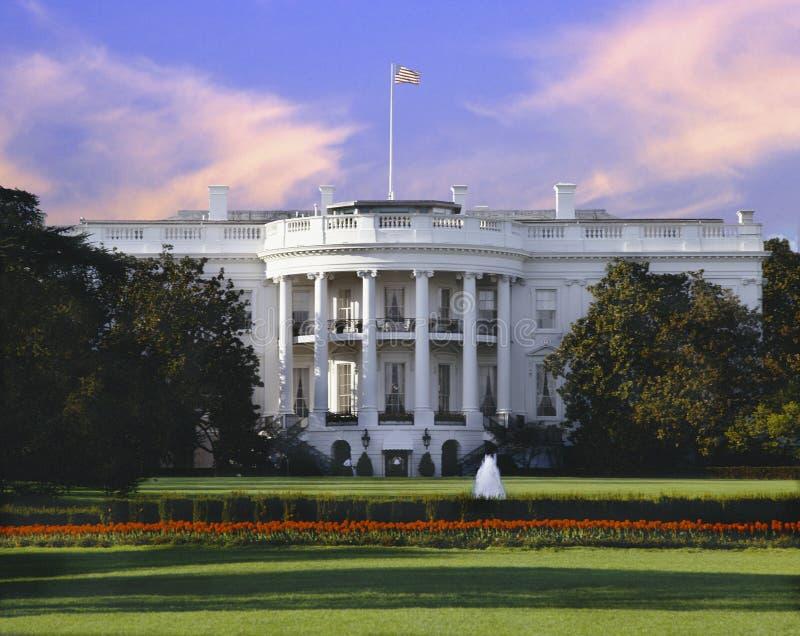 Het Witte Huis, Washington D C royalty-vrije stock afbeelding