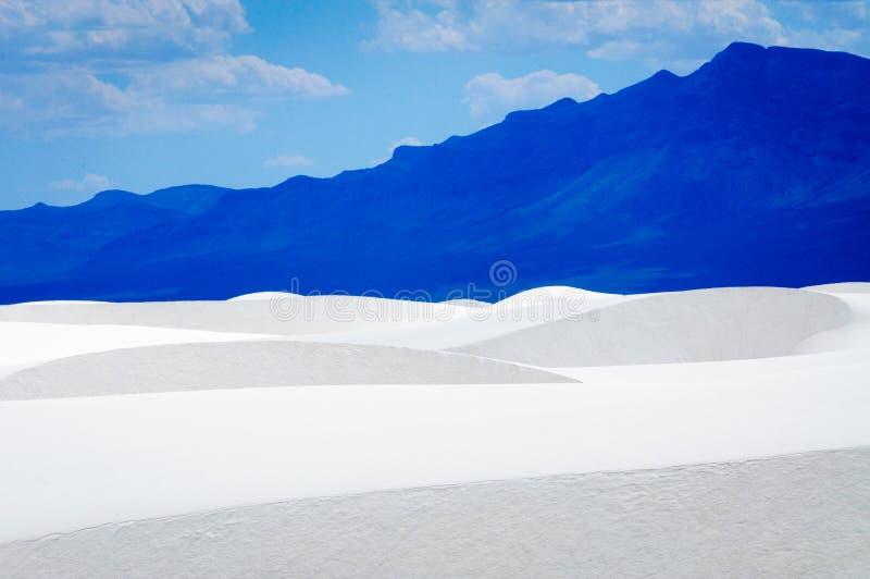 Het witte Nationale Monument van het Zand royalty-vrije stock foto