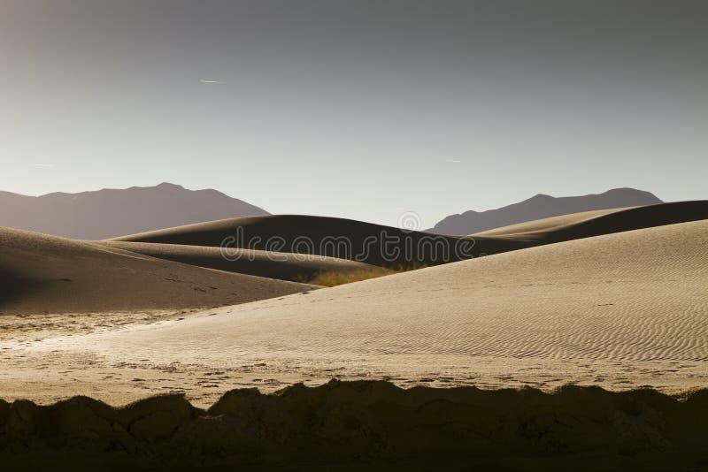 Het witte Panorama van het Monument van het Zand Nationale stock foto's