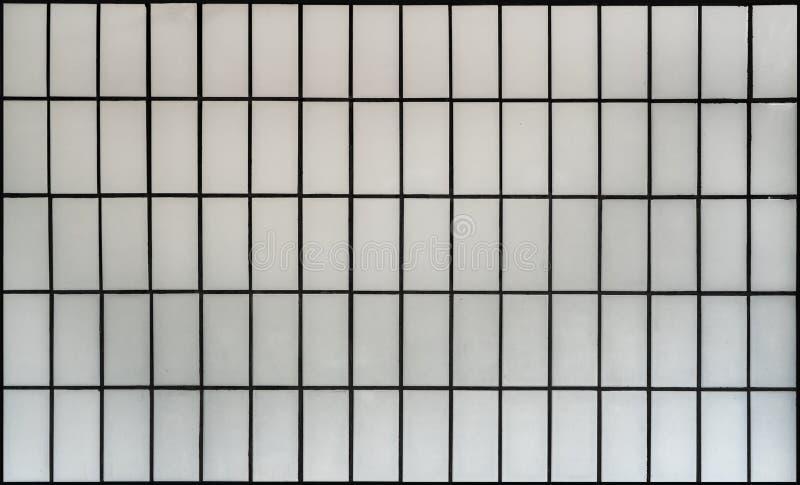 Het witte patroon van de bakstenen muurtegel royalty-vrije stock foto's
