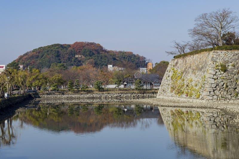 Het witte Reigerkasteel - Himeji royalty-vrije stock afbeeldingen