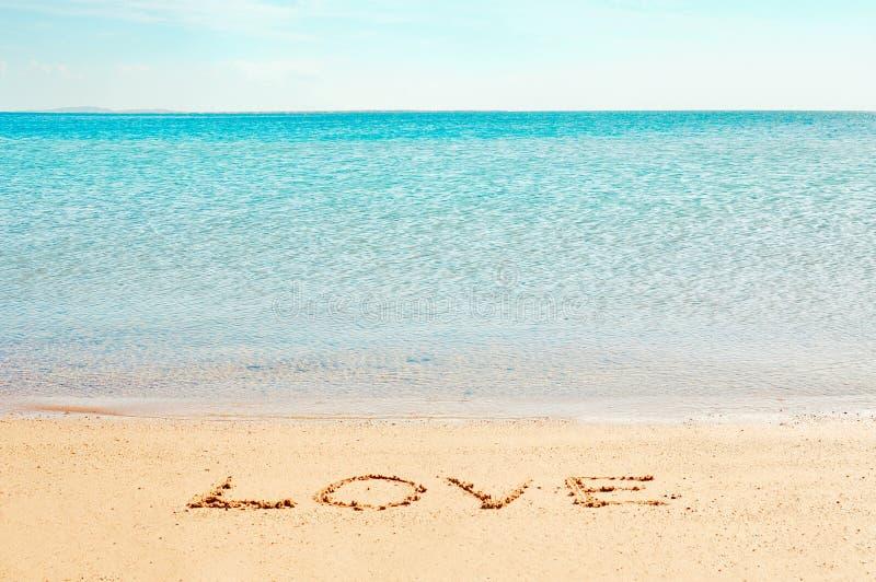 Het woord van de ?liefde? stock afbeeldingen