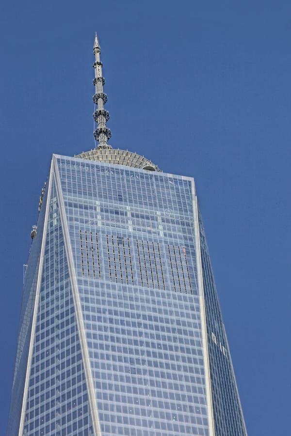 Het World Trade Center, WTC, maalde Nul, de Stad van New York stock afbeeldingen