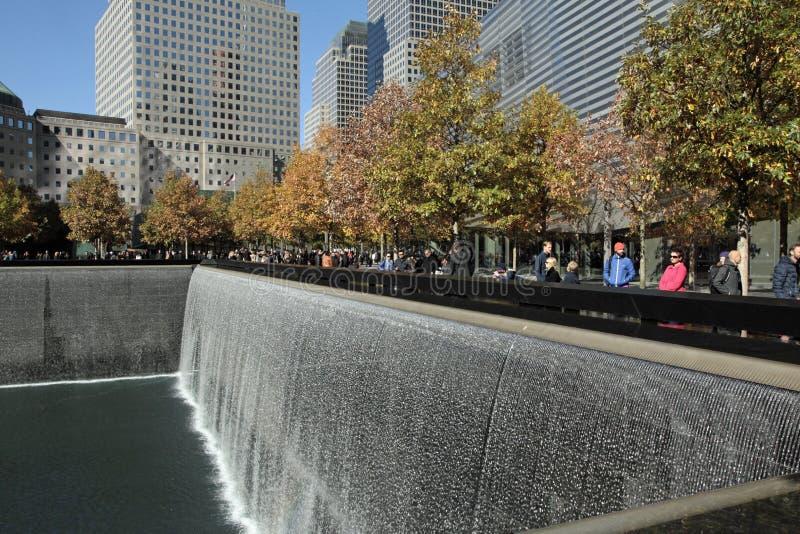 Het World Trade Center, WTC, maalde Nul, de Stad van New York royalty-vrije stock fotografie