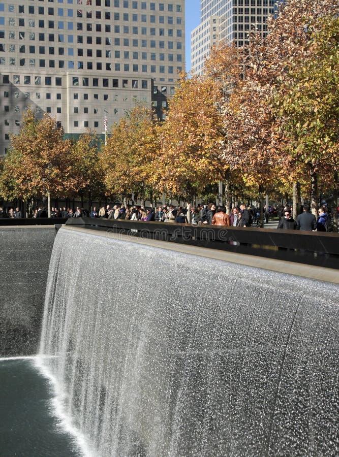 Het World Trade Center, WTC, maalde Nul, de Stad van New York royalty-vrije stock afbeelding