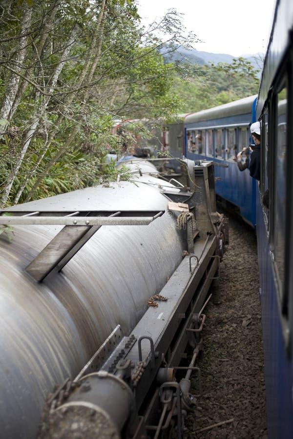 Het Wrak van de trein stock afbeeldingen