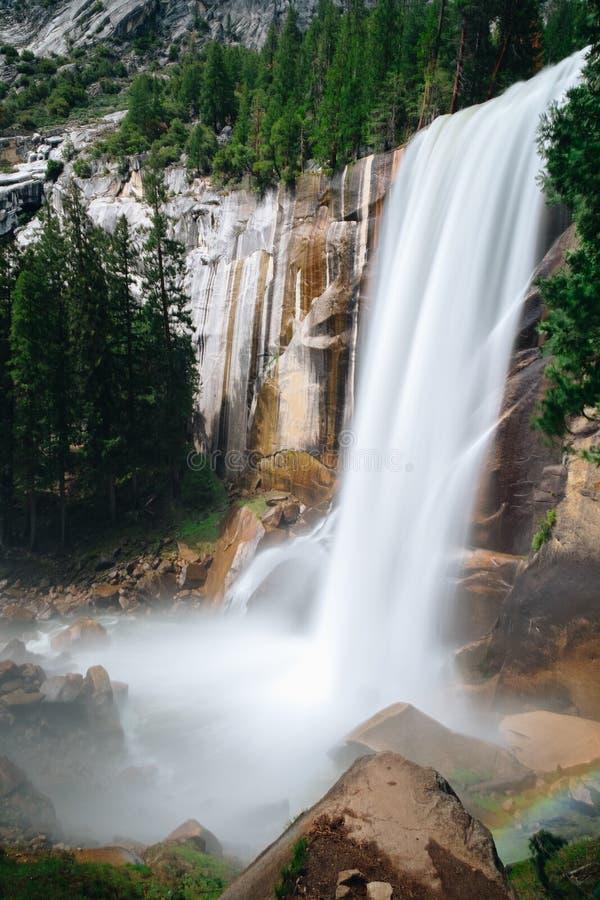 Is het Yosemite Nationale Park een nationaal park van Verenigde Staten royalty-vrije stock foto