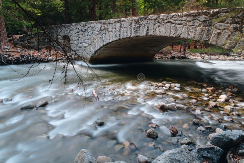 Is het Yosemite Nationale Park een nationaal park van Verenigde Staten stock foto's