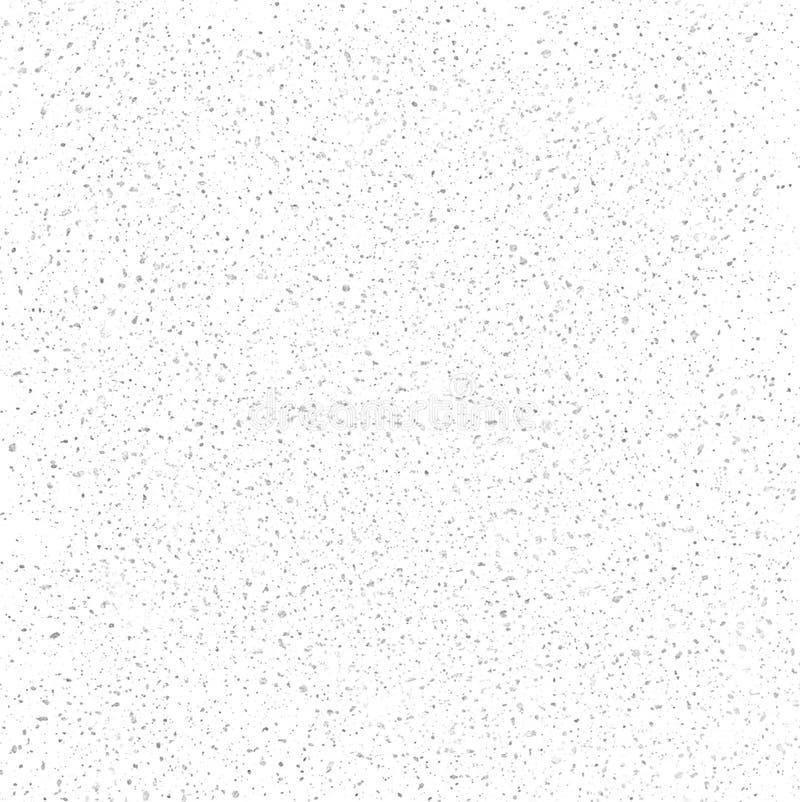 Het zachte grijze Verontruste Patroon van Grunge Muur vector illustratie