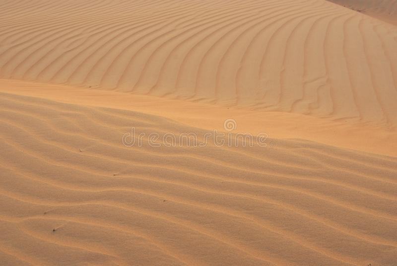 Het zand van de woestijn royalty-vrije stock foto's