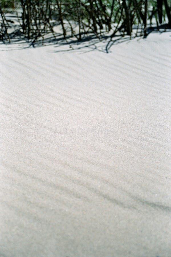 Het zand van het strand stock fotografie