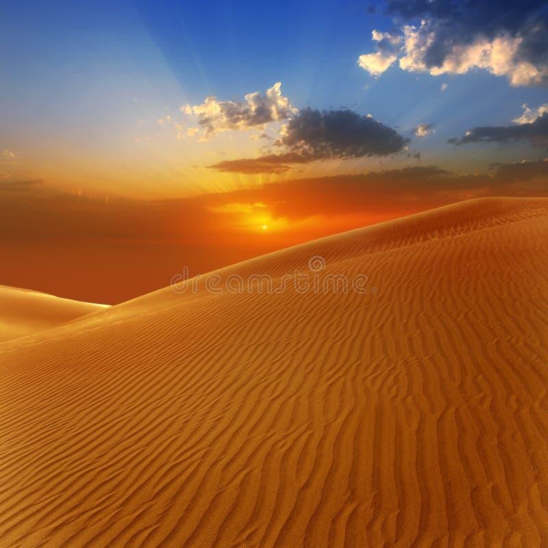 Het zandduinen van de woestijn in Maspalomas Gran Canaria stock afbeelding