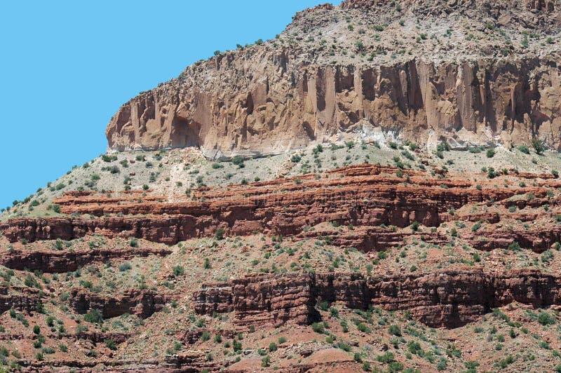 Het Zandsteen van New Mexico stock afbeelding