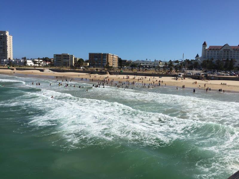 Het zeegezicht van Port Elizabeth royalty-vrije stock fotografie