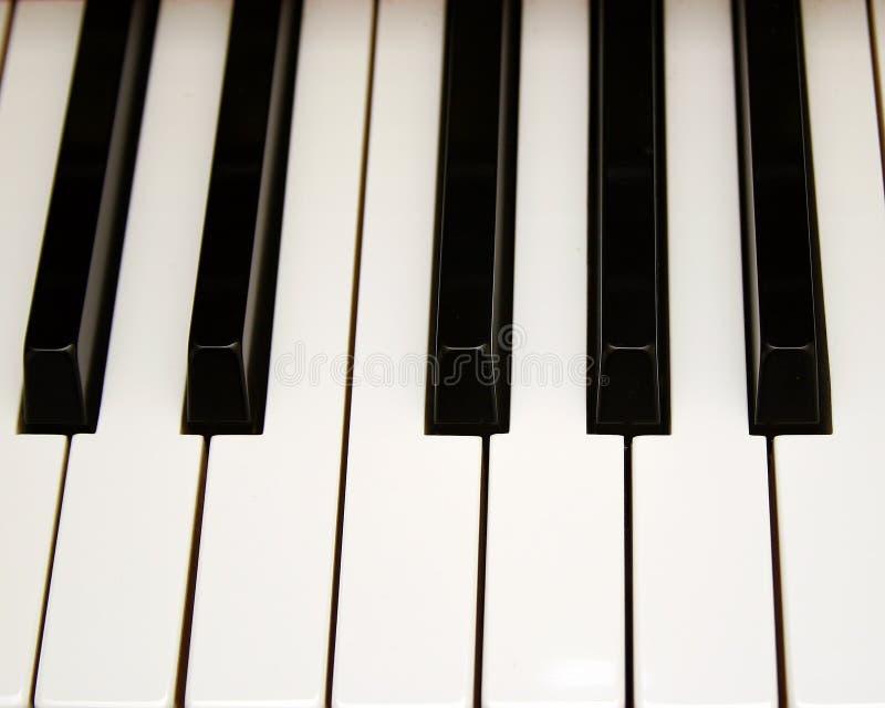 Het Zeer Belangrijke Perspectief Van De Piano Royalty-vrije Stock Foto's