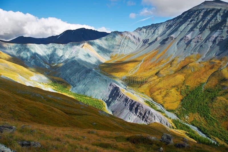 Het is zeer mooi Altay mountains_01 stock afbeeldingen